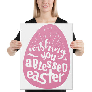 Blessed Easter Canvas