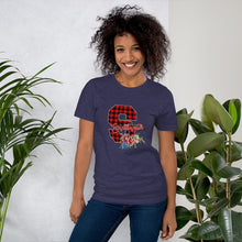 Load image into Gallery viewer, Sweetwater Plaid 'S' Unisex Tshirt