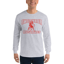 Load image into Gallery viewer, Sweetwater Mustangs Long Sleeve T-Shirt - Red Imprint
