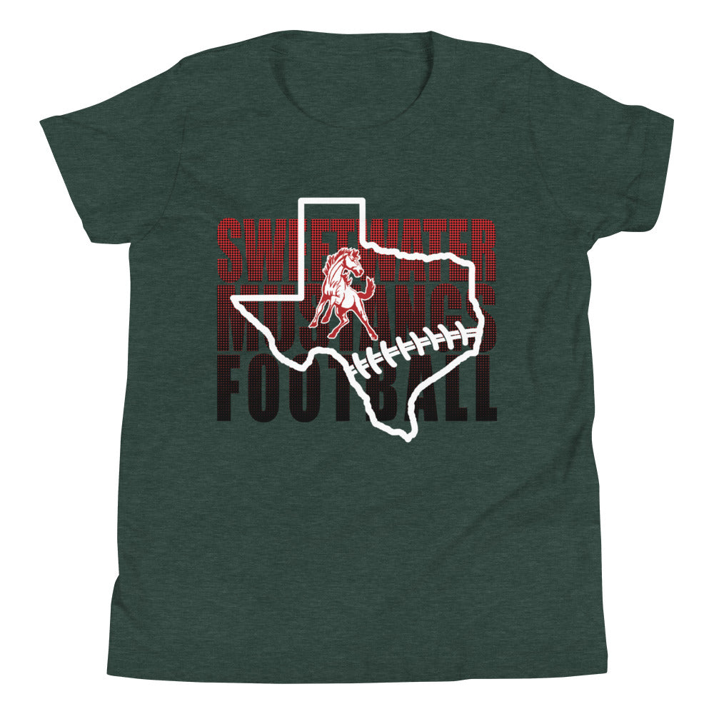Youth Mustang Football T-Shirt