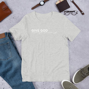 Give God What's Right Unisex T-Shirt - White Imprint
