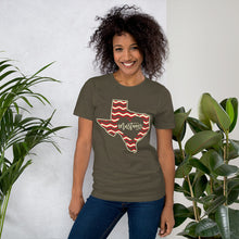 Load image into Gallery viewer, Heart of Texas Mustangs Unisex T-Shirt