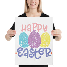 Load image into Gallery viewer, Happy Easter Canvas