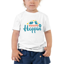 Load image into Gallery viewer, Bunnies Be Hoppin' Toddler T-Shirt