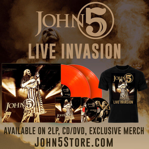 Live Invasion Bundle 2LP Orange - CD/DVD - T Shirt