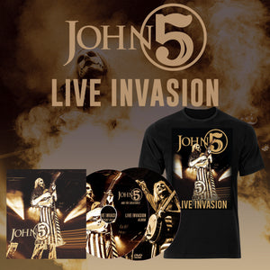 Live Invasion Bundle CD/DVD - T Shirt