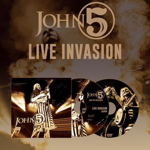 Live Invasion CD / DVD