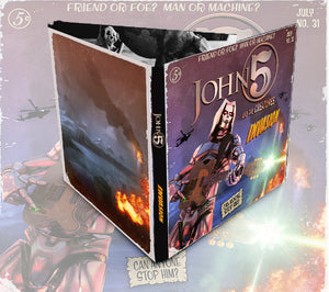 John 5 'Invasion' Digipak CD