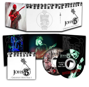 John 5 'Greatest Hits Vol 1 ' CD + DVD