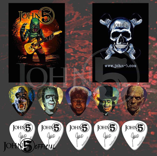 John 5 - Tour Monster 1 Set Full Series