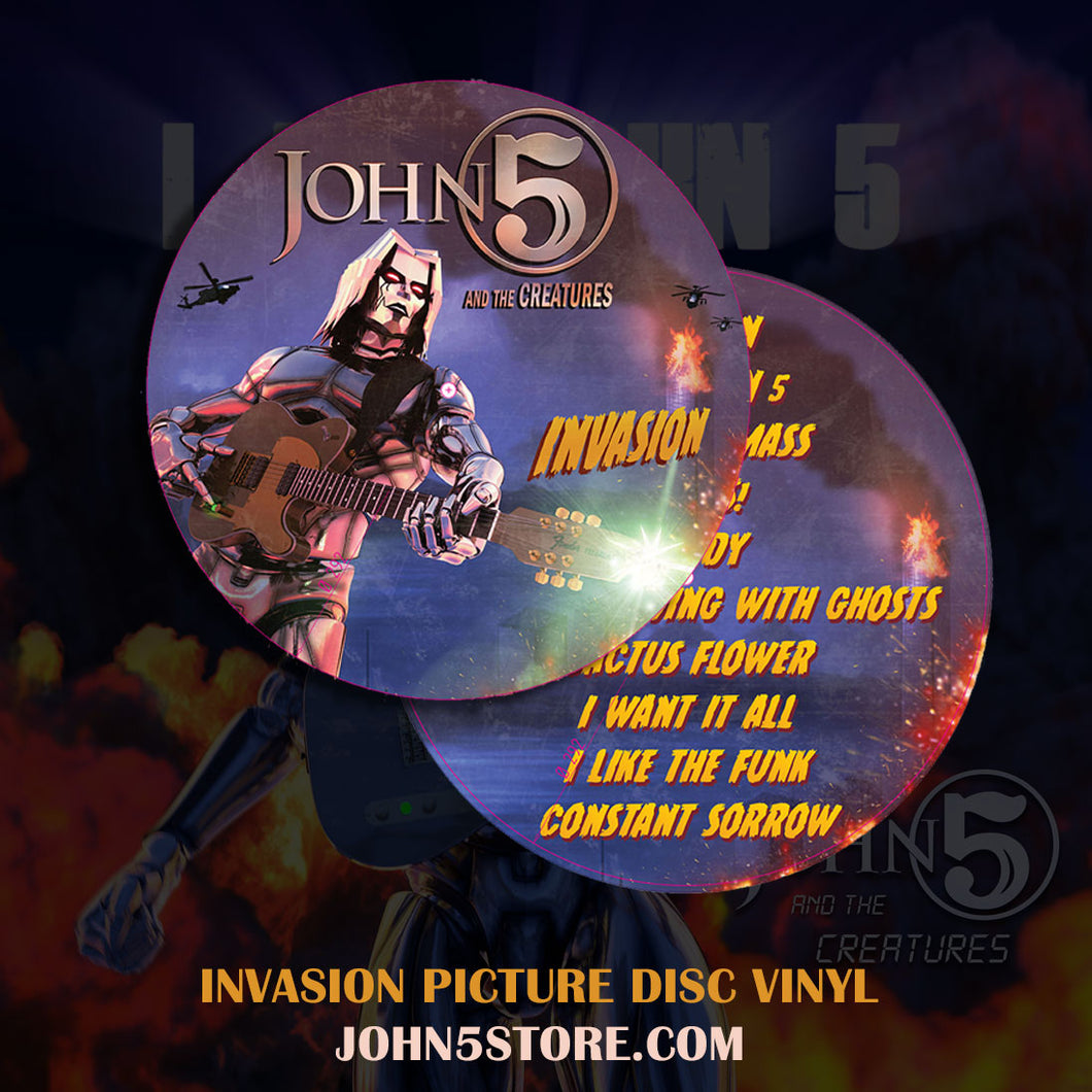 Invasion Picture Disc Vinyl - Limited Edtion