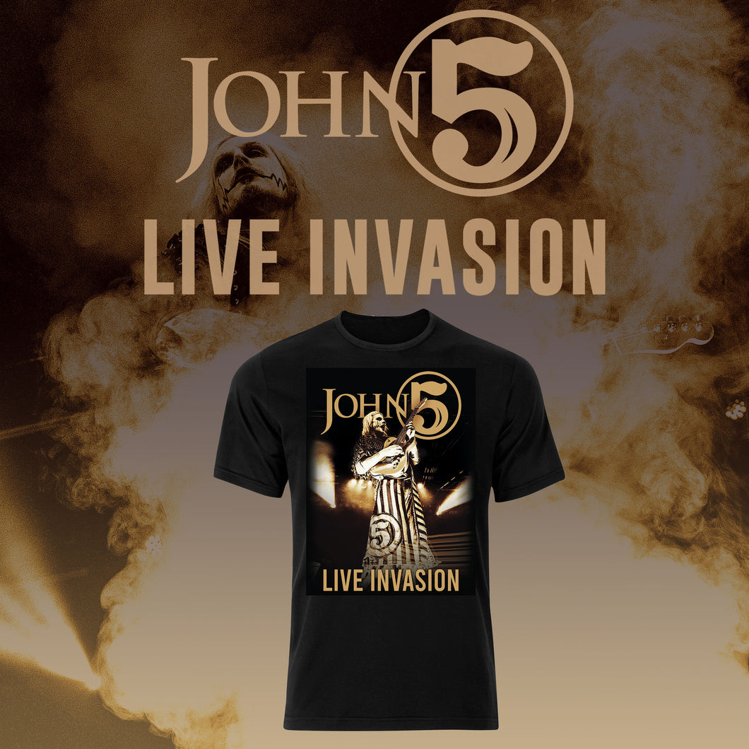 Live Invasion T Shirt