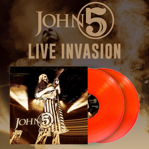 Live Invasion 2LP Orange