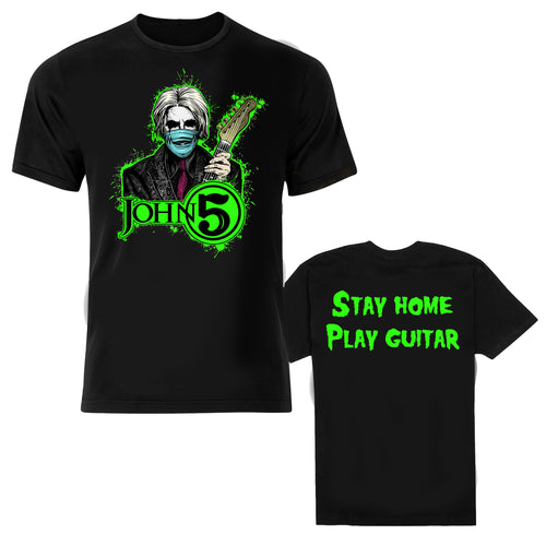 John 5 Stay Home Play Guitar Tee