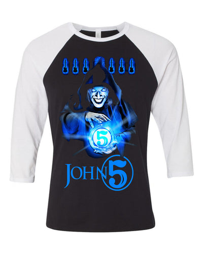 John 5 The Sorcerer Baseball Tee - NEW!