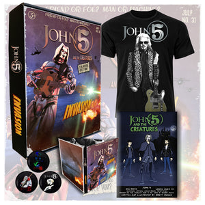 John 5 'Invasion' Limited Edition Box Set
