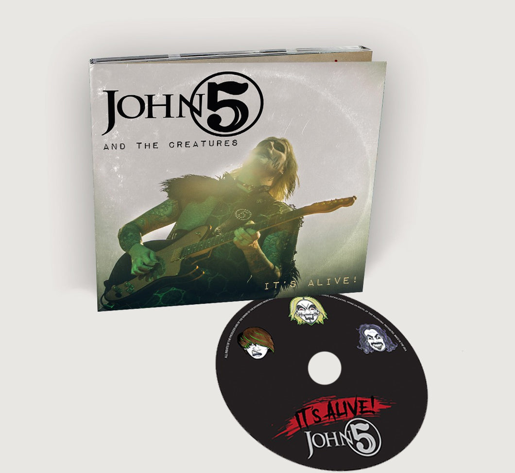 John 5 'It's Alive' Digipak CD