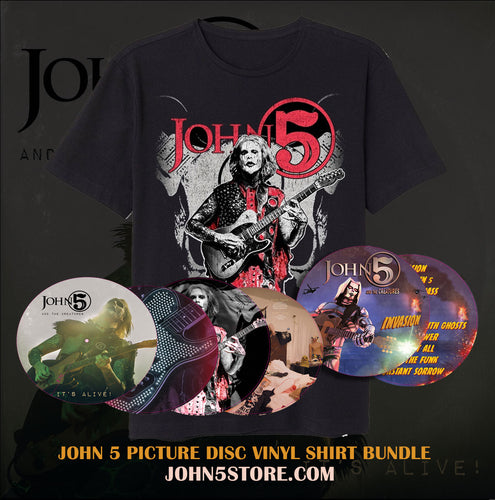 It's Alive & Invasion Picture Disc Vinyl & T Shirt Bundle - Limited Edtion