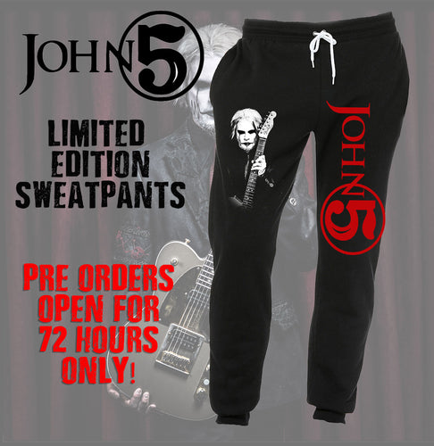John 5 Jogger Sweatpants Custom - Ltd Ed - In Stock