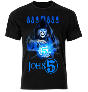 John 5 The Sorcerer T Shirt - NEW!