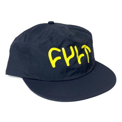 Cult Logo Cap navy Hat BMX Hats