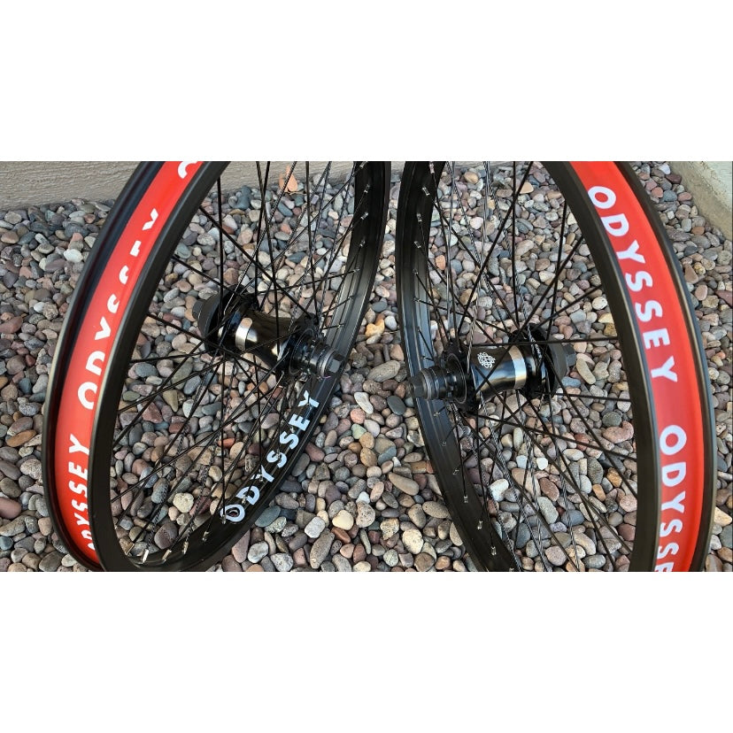 Odyssey Quadrant Clutch V2 Freecoaster Wheel BMX complete freecoaster rear wheels