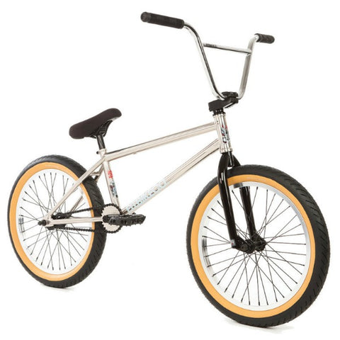 2018 Fit Long Bike chrome BMX
