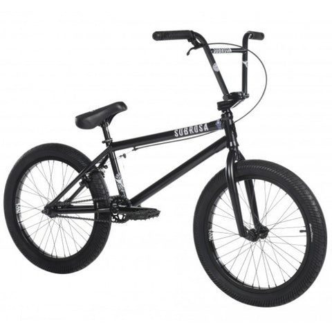 2018 Subrosa Salvador FC Bike black BMX freecoaster