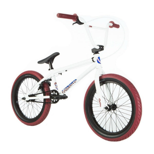 "2019 Fit Eighteen Bike white 18"" BMX"