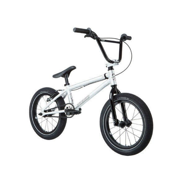 "2019 Fit Misfit 16"" Bike brushed aluminum BMX"