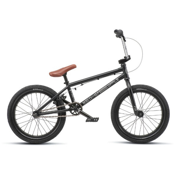 "2019 We The People CRS 18"" Bike black BMX"