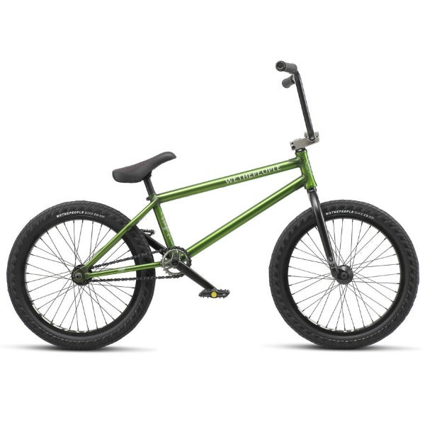 2019 We The People Crysis Bike Trans Olive Green BMX