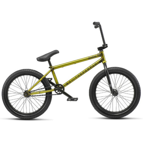 2019 We The People Justice Bike trans yellow BMX