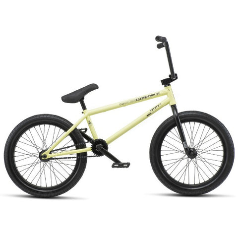2019 We The People Reason Freecoaster Bike canary yellow BMX