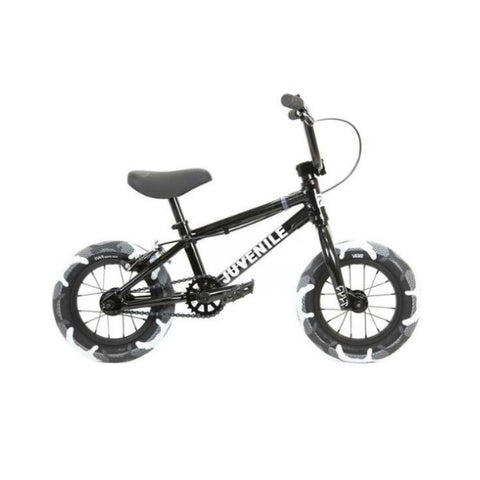 "2020 Cult Juvenile 12"" Bike black grey camo tires BMX"