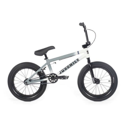 "2020 Cult Juvenile 16"" Bike grey white fade BMX"