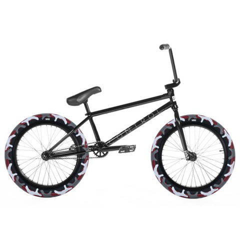 2020 Cult Control Bike black w/ red camo tires BMX