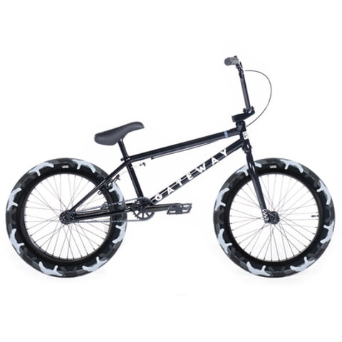 2020 Cult Gateway Bike black camo BMX