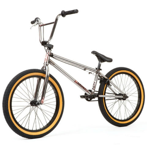 "2020 Fit Series 22 BMX Bike clear raw 22"" BMX"