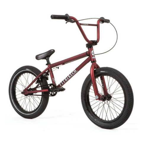 2020 Fit Eighteen Bike dark red BMX 18""