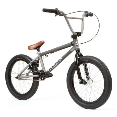 2020 Fit Eighteen FC Bike clear raw BMX Freecoaster 18""