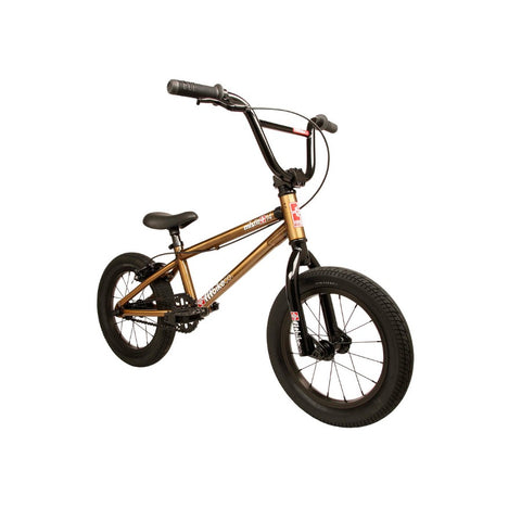 "2020 Fit Misfit 14"" BMX Bike trans gold"