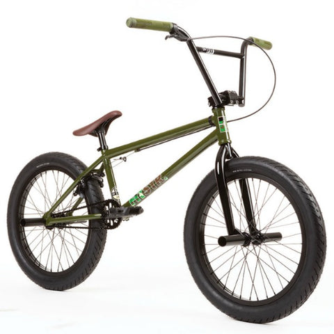2020 Fit STR XL Bike gloss army green BMX