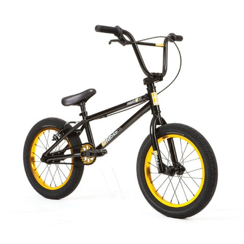"2020 Fit Misfit 16"" BMX Bike black gold"