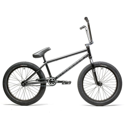 2020 Stranger Level Bike Black BMX Bikes Freecoaster