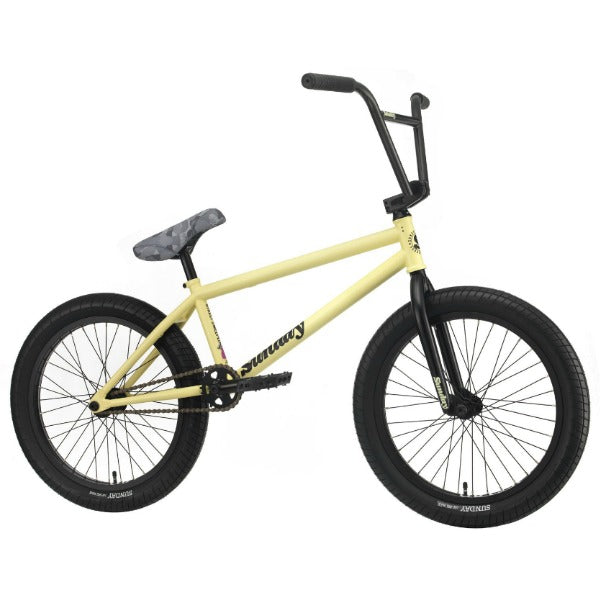 2020 Sunday Street Sweeper Bike notepad yellow BMX Jake Seeley
