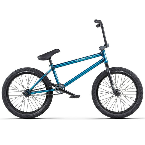 2020 We The People Crysis Bike translucent teal BMX