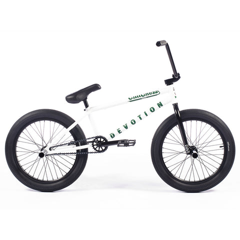 2021 Cult Devotion Bike Panza White BMX Bikes Anthony Panza 2020