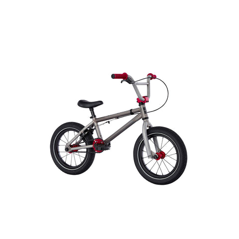 "2021 Fit Misfit 14"" Bike Matte Clear Raw Complete BMX Bikes 2020"