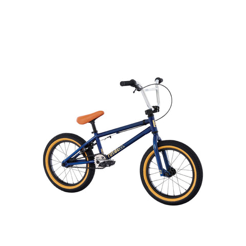 "2021 Fit Misfit 16"" Bike Trans Navy Blue Complete BMX Bikes 2020"
